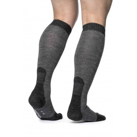 Woolpower Socks Skilled Classic 400 - Calcetines - gris/negro
